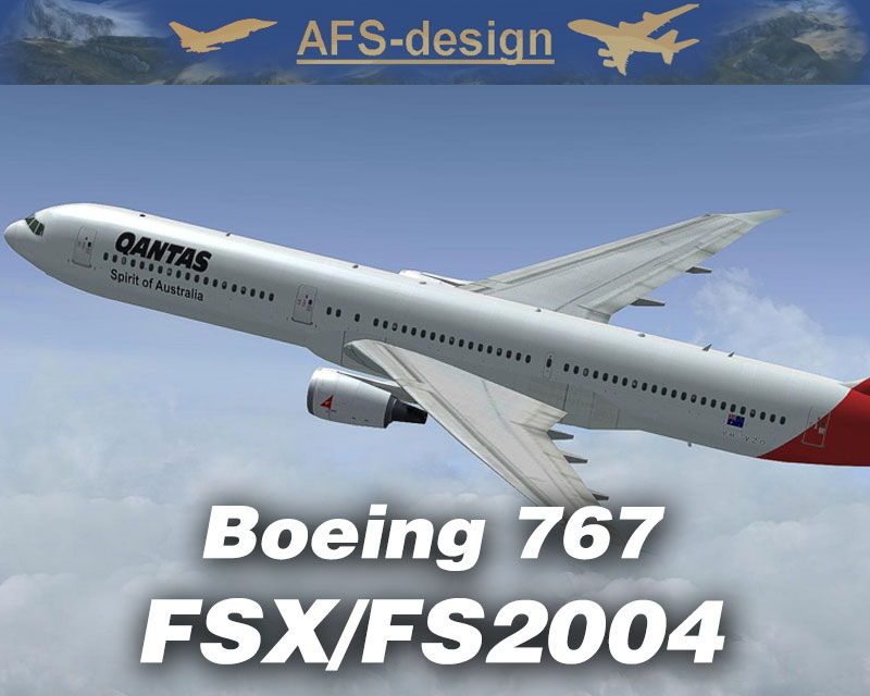 Boeing 767 For FSX FS2004