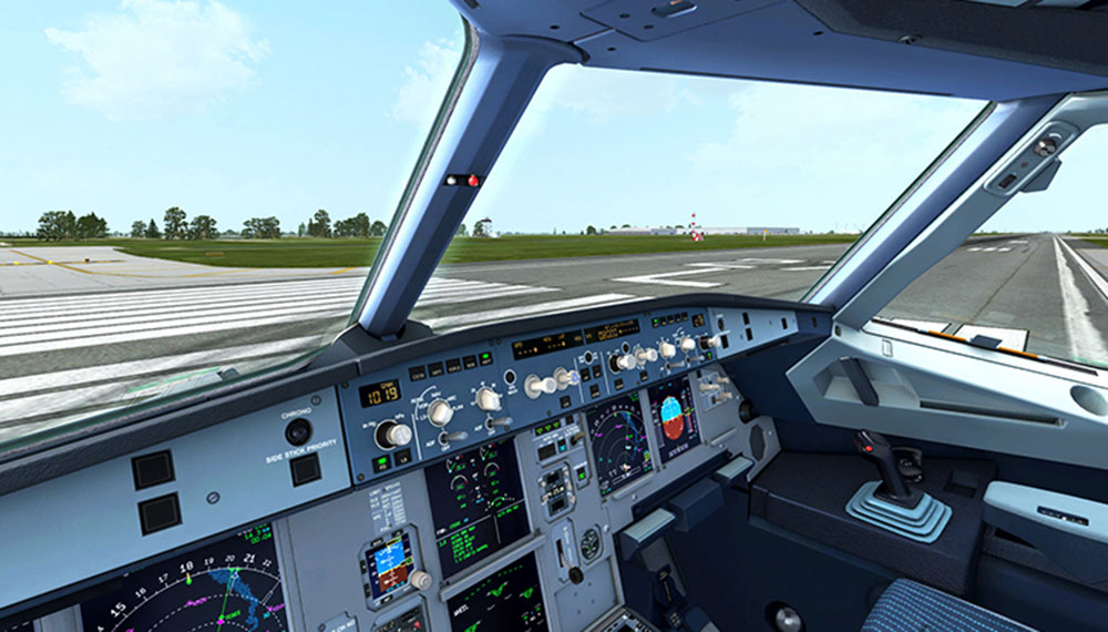 airbus a318 a319 for fsx p3d by aerosoft. Black Bedroom Furniture Sets. Home Design Ideas