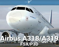 Airbus A318/A319 for FSX/P3D