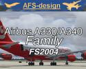 Airbus A330/A340 Family for FS2004