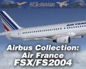 AFS-Design Airbus Collection with Air France Repaints for FSX & FS2004
