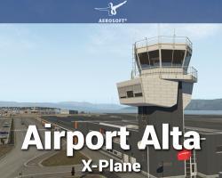 Airport Alta (ENAT) Scenery