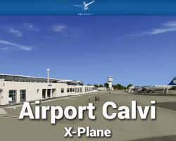 Airport Calvi Scenery