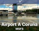 Airport A Coruña Scenery for MSFS