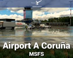 Airport A Coruña Scenery