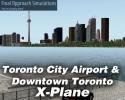 Toronto City Airport & Downtown Toronto Scenery for X-Plane 10