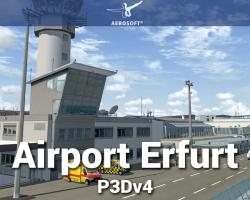 Airport Erfurt Scenery for P3Dv4