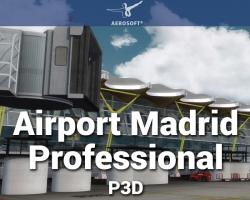 Mega Airport Madrid Professional Scenery for P3D