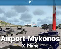Airport Mykonos Scenery for X-Plane