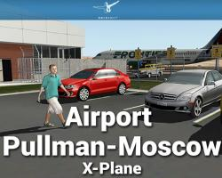 Airport Pullman-Moscow Scenery for X-Plane