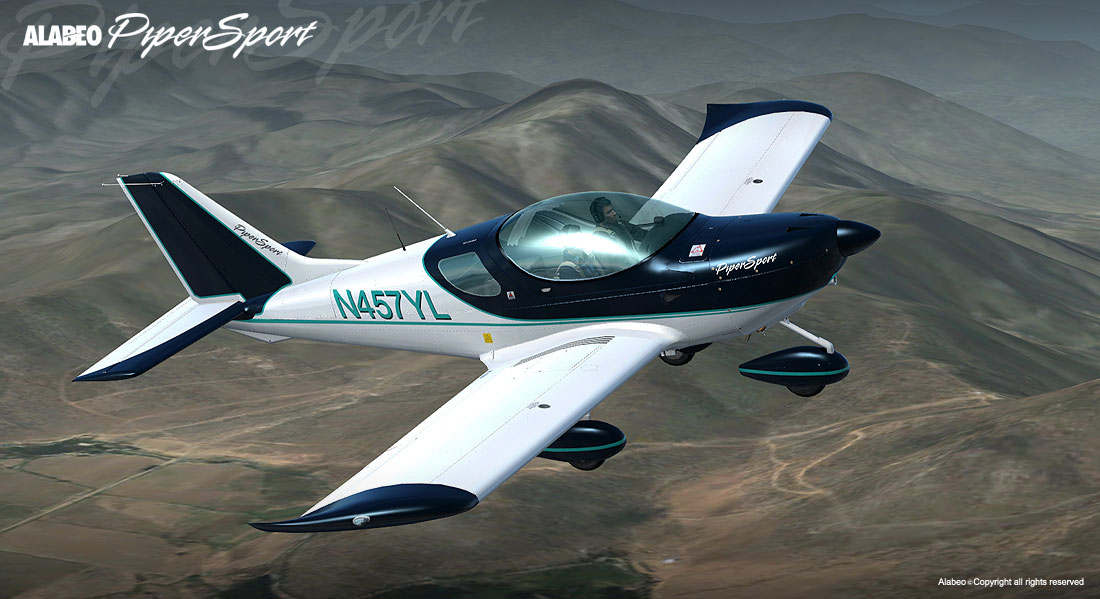 cruz pipersport ps p3d by alabeo