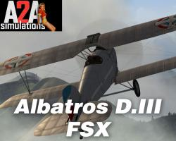 Aircraft Factory: Albatros D.III (oef) for FSX