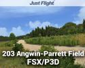 203 Angwin-Parrett Field Scenery for FSX/P3D