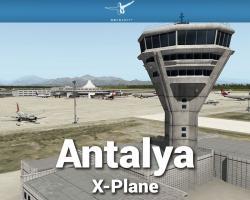 Airport Antalya Scenery