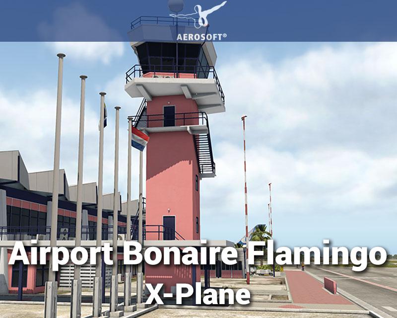 Airport Bonaire Flamingo for X-Plane