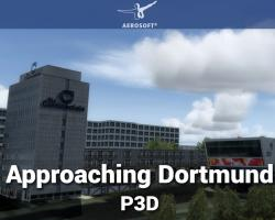 Approaching Dortmund Scenery for P3Dv4