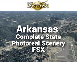 MegaSceneryEarth Arkansas Complete State Photoreal Scenery