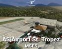 Airport St. Tropez (LFTZ) Scenery for MSFS