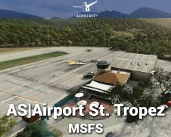 Airport St. Tropez (LFTZ) Scenery for MSFS