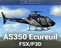 Aerospatiale AS350 Ecureuil for FSX/P3D