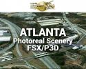 Atlanta Photoreal Scenery Ultra-Res Cities for FSX/P3D