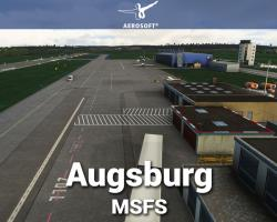Augsburg Airport (EDMA) Scenery