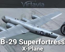 Boeing B-29 Superfortress for X-Plane