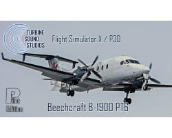 Beechcraft B-1900D PT6 Pilot Edition Sound Pack for FSX/P3D