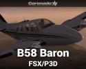 Beechcraft B58 Baron for FSX/P3D
