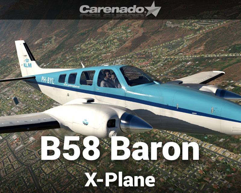 Beechcraft B58 Baron for X-Plane 11
