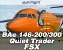 BAe 146-200/300 Jetliner Quiet Trader (QT) Expansion Pack