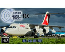 BAE-146 ALF-502 Pilot Edition Sound Pack