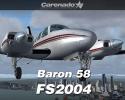 Beechcraft Baron 58 for FS2004