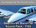 Beechcraft Baron 58 Sound Pack for FSX