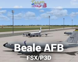 Beale AFB Scenery