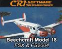 Beech 18 for FSX/FS2004