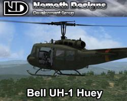 Bell UH-1 Huey for FSX