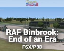 RAF Binbrook: End of an Era Scenery for FSX/P3D