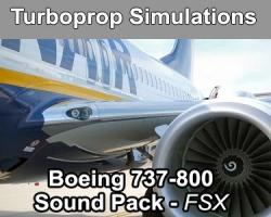 Boeing 737-800 Sound Pack for FSX