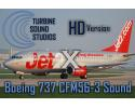 HD Boeing 737 Classic CFM56-3B Sound Pack for FSX & FS2004