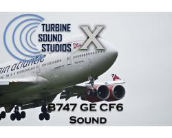 Boeing 747 GE CF6-80 Sound Pack