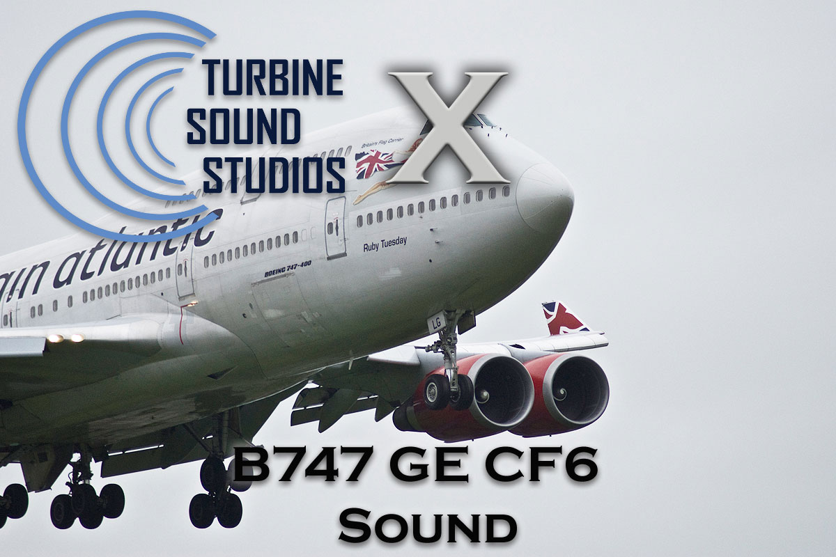 Boeing 747 GE CF6-80 Sound Pack for FSX/P3D