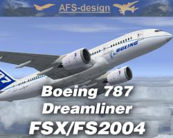 Boeing 787 Dreamliner for FSX/FS2004