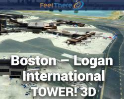 Boston Logan International (KBOS) Expansion for Tower! 3D