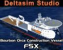Bourbon Orca X-bow for FSX