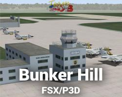 Bunker Hill AFB Scenery