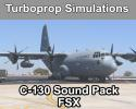 Turboprop Simulations Lockheed C-130 Hercules Sound pack for FSX