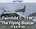 Aeroplane Heaven Fairchild C-119F 'The Flying Boxcar' for FSX/P3D