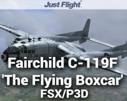 Aeroplane Heaven Fairchild C-119F 'The Flying Boxcar'