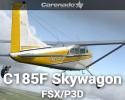 Cessna C185F Skywagon for FSX/P3D